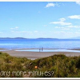 The Magical Beach in Dunalley, Tasmania