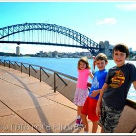 We're in Sydney!