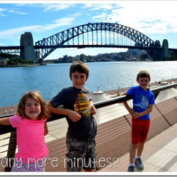 The Opera House & Surviving Public Transportation in Sydney!