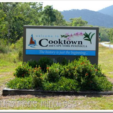 All those historic sites in Cooktown