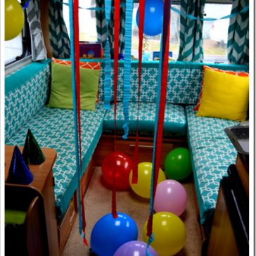 Birthdays in the Caravan!