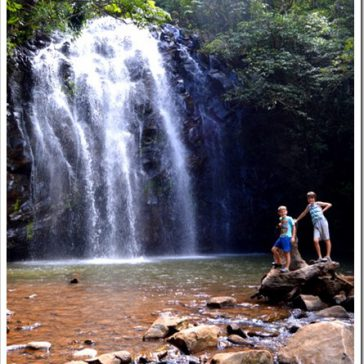 Waterfalls in the Tablelands