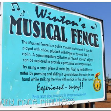 Winton's Musical Fence