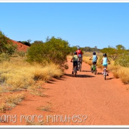 Bike Ride Around Uluru