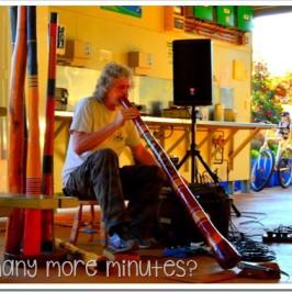 A Surprise Didgeridoo Performance