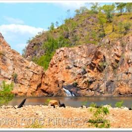 Swimming at Edith Falls