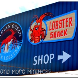 The Lobster Shack in Cervantes